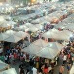 Photo taken at ตลาดนัดกรุงเทพกรีฑา by Francis S. on 12/5/2011