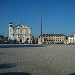Photo taken at Piazza Grande by Matteo M. on 2/26/2011