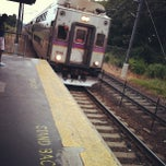 Photo taken at MBTA Commuter Rail South Attleboro by Jesse F. on 7/14/2012
