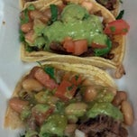 Photo taken at Iguanas Ranas Tacos and Beers by Debra L. on 1/20/2012