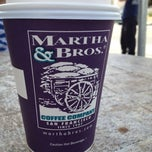 Photo taken at Martha & Bros. Coffee by Lindsey S. on 4/8/2012