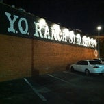 Photo taken at Y. O. Ranch Steakhouse by Melissa O. on 9/21/2011