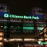 Photo taken at Citizens Bank Park by Hesham A. on 10/3/2011