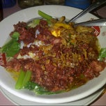 Photo taken at Sindang Kasih - Bubur Kacang Ijo / Mie Rebus 24H by Venny T. on 9/12/2012