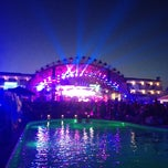Photo taken at Ushuaïa Ibiza Beach Hotel by Marina B. on 6/15/2012