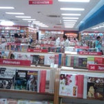 Photo taken at Gramedia by Andy H. on 4/16/2012