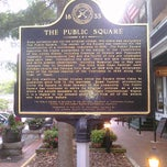 Photo taken at The Public Square - Dahlonega by Lynda R. on 7/16/2011