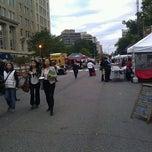Photo taken at FRESHFARM Market by the White House by Kevin M. on 10/20/2011