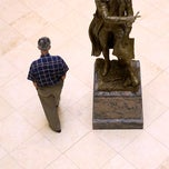 Photo taken at Pierre L'Enfant Statue (Miller Hall) by College of William & Mary on 12/22/2011