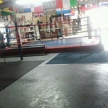 Photo taken at showtime boxing gym by Neva M. on 1/13/2012
