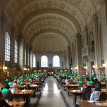 Photo taken at Boston Public Library by MultaniFX on 6/16/2012