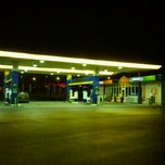 Photo taken at Neste | Lucavsala by Maris D. on 10/14/2011