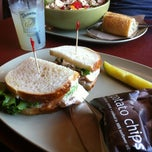 Photo taken at Panera Bread by Clara R. on 6/9/2012