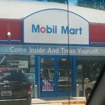 Photo taken at Mobil by Steven F. on 6/17/2012
