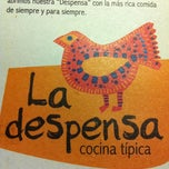 Photo taken at La Despensa Cocina Típica by Juan L. on 6/5/2011