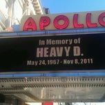 Photo taken at Apollo Theater by jaz on 11/25/2011