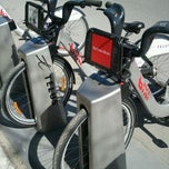 Photo taken at Station BIXI by MapDark on 4/13/2012