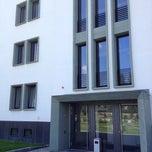 Photo taken at Bundesverwaltungsamt Gästehaus Johannisthal by Ralf K. on 7/19/2012
