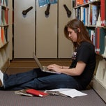 Photo taken at Benedictine University Library by Benedictine U. on 1/3/2012