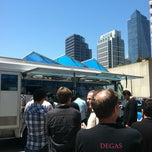 Photo taken at Los Compadres Taco Truck by Calhan S. on 5/11/2012