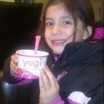 Photo taken at Yogi Frozen Yogurt by Josh L. on 12/6/2011
