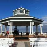 Photo taken at Rehoboth Beach Bandstand by Gardner G. on 6/17/2012