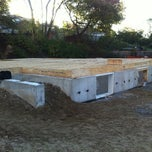 Photo taken at Habitat For Humanity Macey & St. Dunstan Build by Steerboy on 10/6/2011