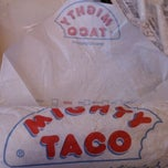 Photo taken at Mighty Taco by Kourtney W. on 9/10/2011