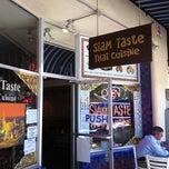 Photo taken at Siam Taste Thai Cuisine by Sunny L. on 6/30/2011
