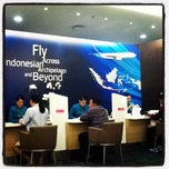 Photo taken at Garuda Indonesia Gallery by Jessica S. on 10/8/2011