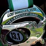 Photo taken at 13.1 LA Marathon by Ijaz A. on 1/16/2012
