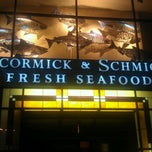 Photo taken at McCormick and Schmicks by Tim on 10/9/2011