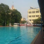Photo taken at Calcutta Swimming Club by Karan P. on 4/1/2012