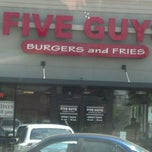 Photo taken at Five Guys by Faith S. on 4/16/2012