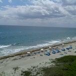 Photo taken at Highland Beach by Artie K. on 4/9/2012