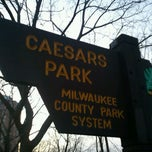 Photo taken at Caesar's Park by Babs on 1/27/2012
