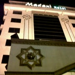 Photo taken at Madani Hotel Medan by Grishelda A. on 1/5/2012