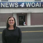 Photo taken at News 4 WOAI by Mike H. on 11/7/2011
