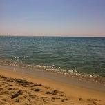 Photo taken at Platja del Pla de Montgat by Diana M. on 6/25/2012