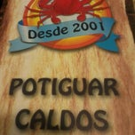 Photo taken at Potiguar Caldos by Danielly O. on 7/30/2012