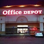 Photo taken at Office Depot by Mozza R. on 8/30/2011