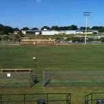 Photo taken at Highlander Field -  Home of the Clermont Knights by A A. on 7/23/2011
