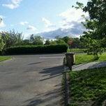 Photo taken at Shippan Avenue by Renzo R. on 5/10/2012