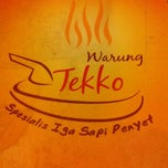 Photo taken at Warung Tekko by vady M. on 1/17/2012