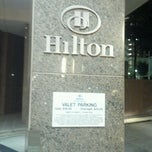 Photo taken at Hilton Charlotte Center City by Phyllon J. on 8/5/2012