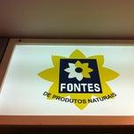 Photo taken at Fontes de Produtos Naturais by Simone P. on 3/12/2012