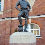 Photo taken at The Johnny Haynes Statue by Nasos E. on 7/22/2012
