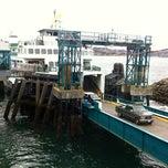 Photo taken at Bremerton Ferry Terminal by 💜ⓒⓗⓡⓘⓢⓣⓘⓝⓐ . on 3/9/2012