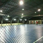Photo taken at JPS Futsal Ampang by Kay M. on 3/31/2012