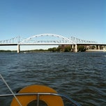 Photo taken at Mississipi river by TGongaware on 9/1/2012